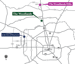 Map Of Conroe Texas Location U2013 The Woodlands Hills
