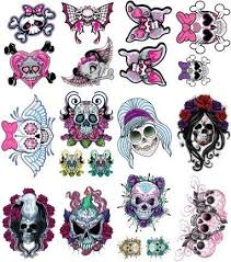 sugar skull clipart girly pencil and in color sugar skull clipart