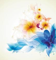 flower background free clipart collection