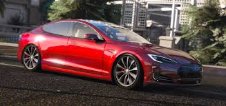 tesla model r 2016 tesla model s p90d gta5 mods com