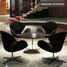 black swan chair replica for hotel lobby lounges homes