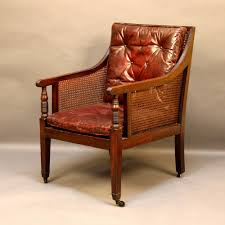 Library Chair Regency Bergere Library Chair 261266 Sellingantiques Co Uk