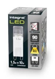 g9 led bulb i 10w equivalent warm white led lamp