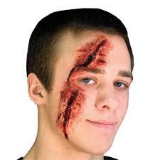 prosthetic halloween mask woochie slashed eye latex prosthetic halloween prosthetics uk
