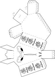 Pliage Lapin En Papier by Nouvel An Chinois Bricolage à Imprimer Des Boites Animaux Du