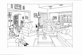 coloriage de chambre de fille dessin de chambre impressionnant stock dessin chambre bb dessin