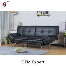 Black Leather Corner Sofa Black Leather Corner Sofa Bed Design China Manufacturer Buy