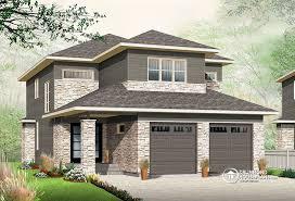 narrow lot house plan narrow lot house plan with nursery drummond plans front garage best