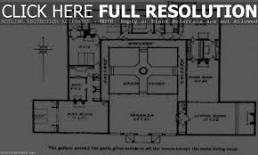 spanish house plans with courtyard spanish ranch style homes