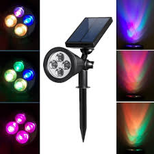 multi color led landscape lighting fashion style post lights pathway lighting spotlight flood light