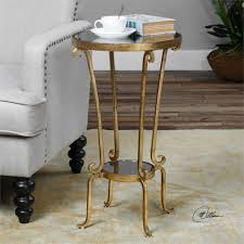 uttermost accent tables uttermost vevina round accent table 15 x 25h great room ideas