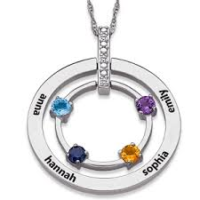 s day birthstone necklace 45 best personalized jewelry for images on