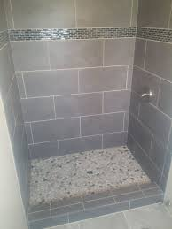 Concept Design For Tiled Shower Ideas Tiles Interesting Slate Tile Shower Floor Slate Tile Shower