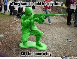 Green Man Meme - army man by fencer22 meme center