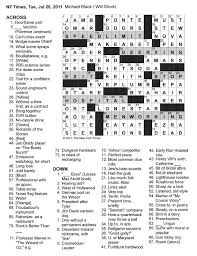 Woodworking Tools Crossword Puzzle Clue by The New York Times Crossword In Gothic July 2011