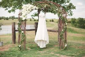 wedding arches outdoor olive green wedding color of the year