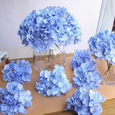 silk hydrangea luxury colorful artificial silk hydrangea flowers home
