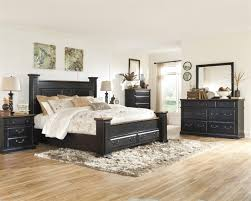 Ashley Bed Frames by Breen Poster Bed With Storage Bedroom Set B631 By Ashley Queen King