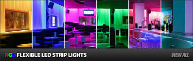 rgb led light color magic led strips programmable