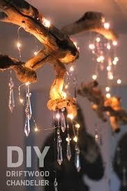 String Chandelier Diy Best 25 Driftwood Chandelier Ideas On Pinterest What Is