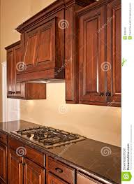 Modern Kitchen Range Hoods - modern kitchen cabinets range hood stock photo image 9908430