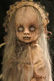 Scary Baby Doll Halloween Costume Love Weird Creepy Goth Style Dolls Meaning