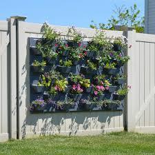 vertical garden tower diy home outdoor decoration