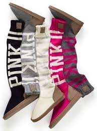 s pink ugg boots sale shoes pink victorias secret boots socks fashion must