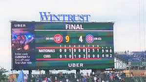 Cubs Lose Flag Ok This Was The Biggest Win Of The Season Talknats Com