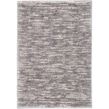 ecarpet gallery yeti cream light grey shag 3 ft 10 in x 5 ft 7