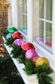 Window Christmas Decorations by Top 40 Outdoor Christmas Decoration Ideas From Pinterest