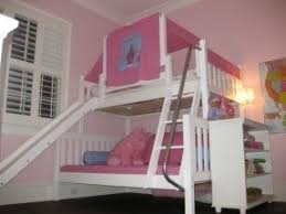 Twin Over Full Bunk Bed With Slide Foter - Twin over full bunk bed with slide