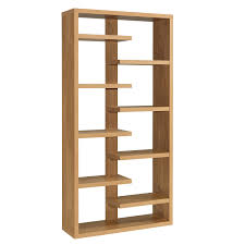 narrow bookcase oak dining room bookcase oak veneer shelving unit toronto modern