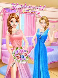 bridesmaid salon girls games android apps google play