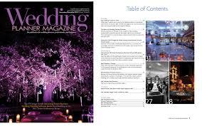 wedding planner magazine great wedding planner designer featured in wedding planner
