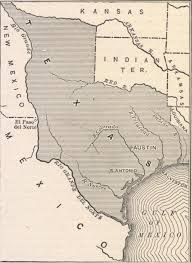 Van Texas Map Annexation Of Texas