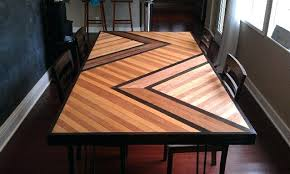 concrete wood table top wood table top design sotehk com