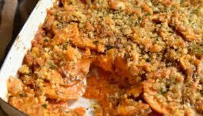 sweet potato gratin homemaker