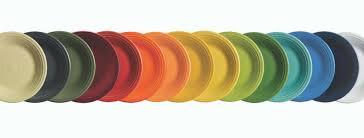 fiestaware egg plate dinnerware home