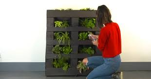 how to make your own vertical pallet garden sia magazine