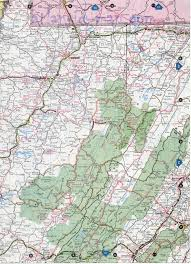 Virginia Map by North West Virginia Map