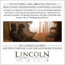 october 3 1863 president lincoln proclaims official thanksgiving
