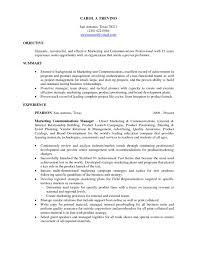 Resume Builder For Internships Resume Objective Examples For Internships