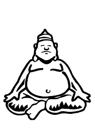 Coloring Page Buddha Img 10961 Buddhist Coloring Pages