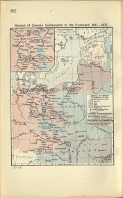 Unification Of Germany Map by