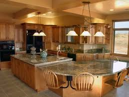 Designing A Kitchen Island With Seating Large Kitchen Island With Seating Large Kitchen Island