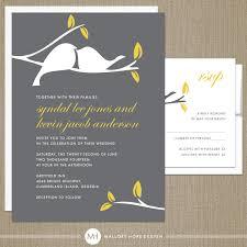 bird wedding invitations modern wedding invitation modern bird wedding invitation ideas