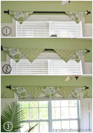 How To Make A No Sew Window Valance Kitchen Window Covering Ideas Treatments Ever Intended Design