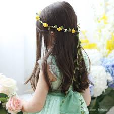 bohemian hair accessories baby children headbands bohemian flowers festival