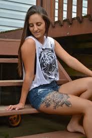 female leg tattoos pinterest